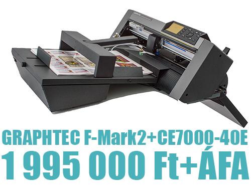 Graphtec F-Mark2 digitális stancoló kedvezményes áron