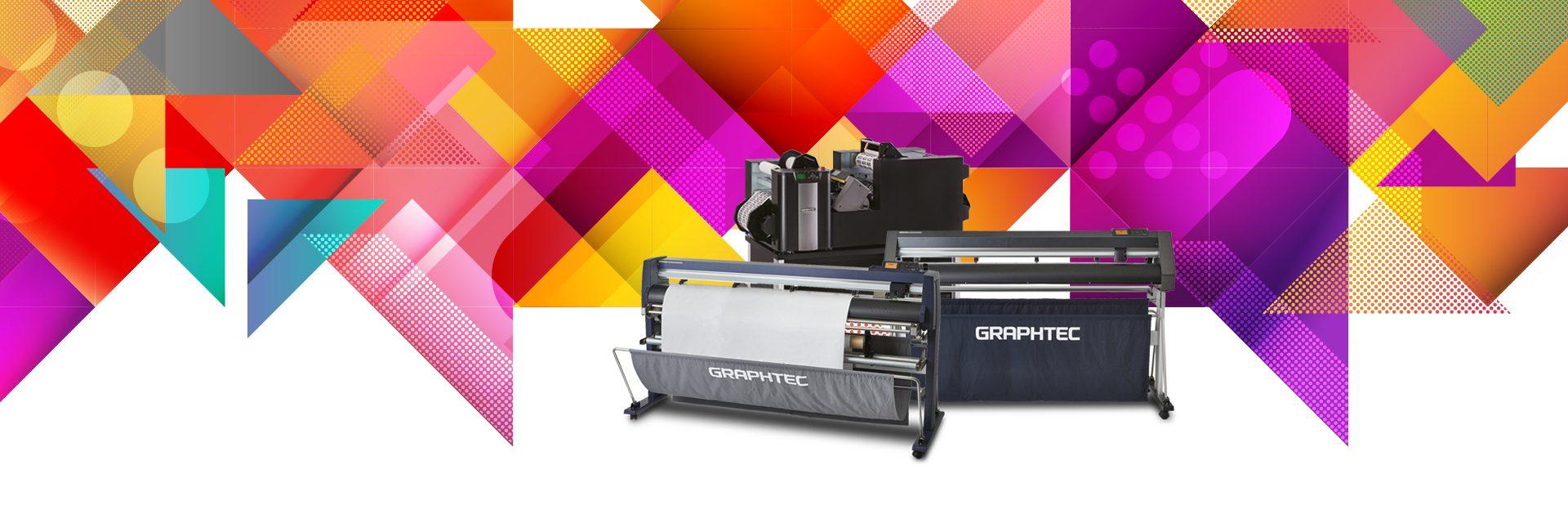 graphtec tekercses vágóplotterek és digitális címkefeldolgozó