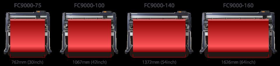 graphtec fc9000 tekercses vágóplotterek
