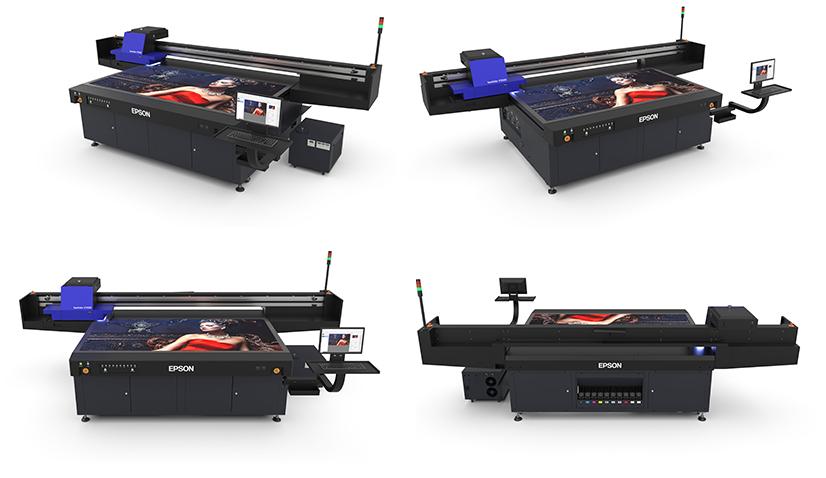 epson sc-v7000 uv led nyomtató nézetei
